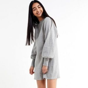 Urban Outfitters Alanna Crewneck Sweatshirt Dress